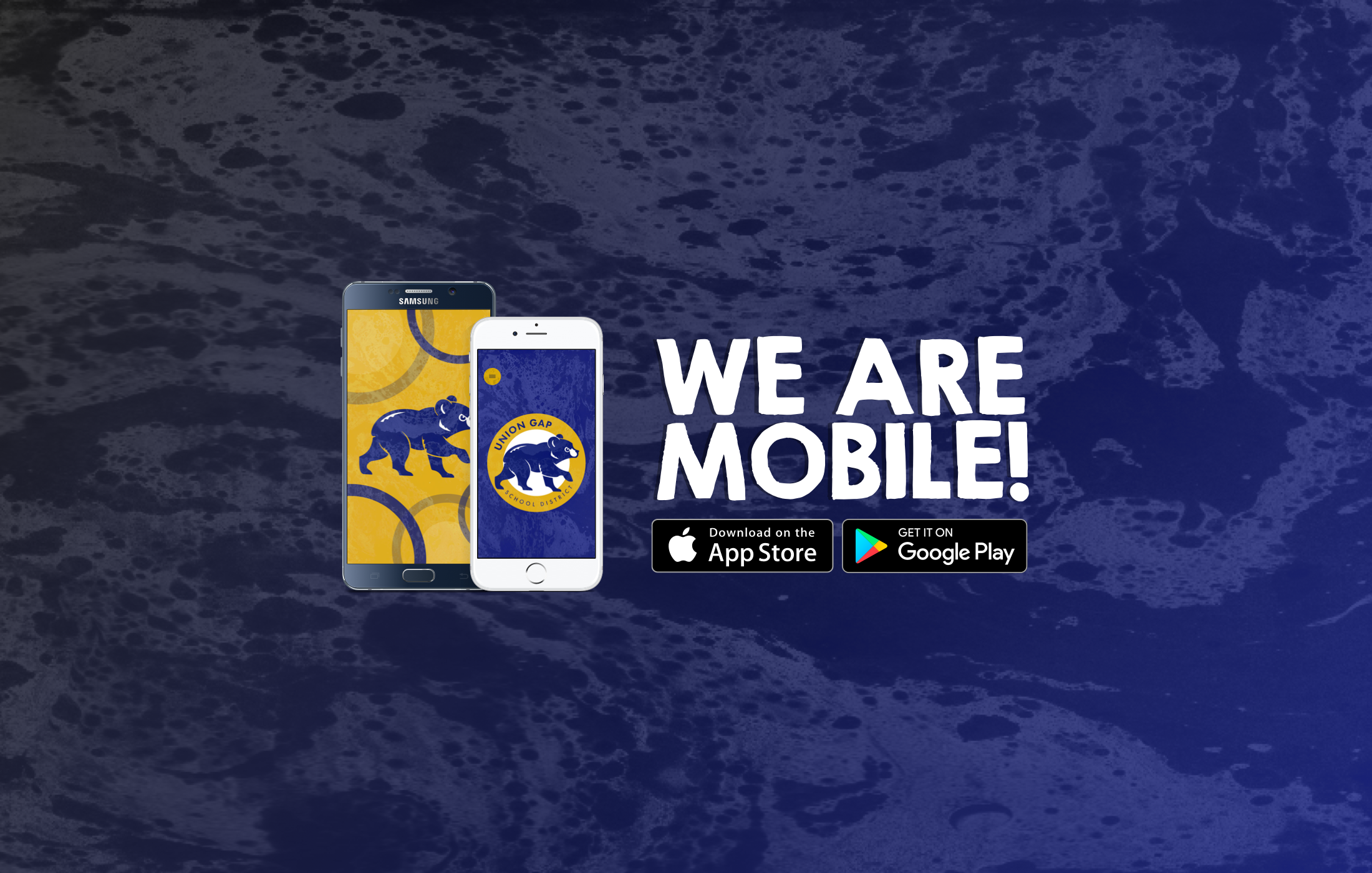 We Are Mobile!  Check IOS or Android App store for our app!